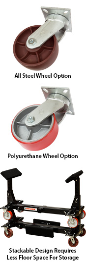 Yardarm Boat Dolly Wheel Options