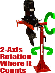 2-Axis Rotation Where It Counts