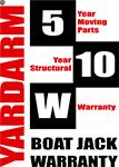 Yardarm Hydraulic Boat Jack Warranty