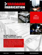 Yardarm Fabrication Services Brochure